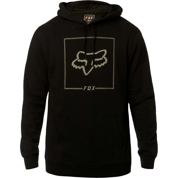CHAPPED PULLOVER FLEECE [BLK]