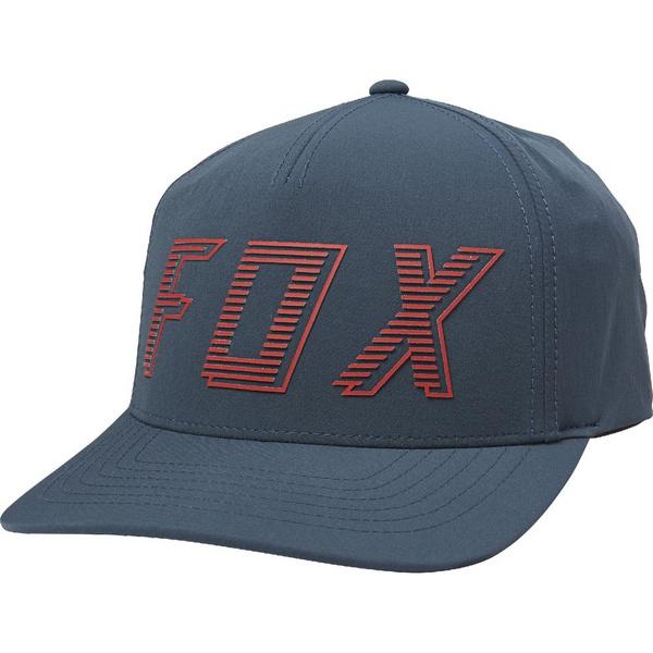 BARRED FLEXFIT HAT [NVY]