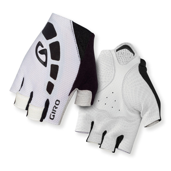 Giro Zero Road Cycling Gloves White/Black M