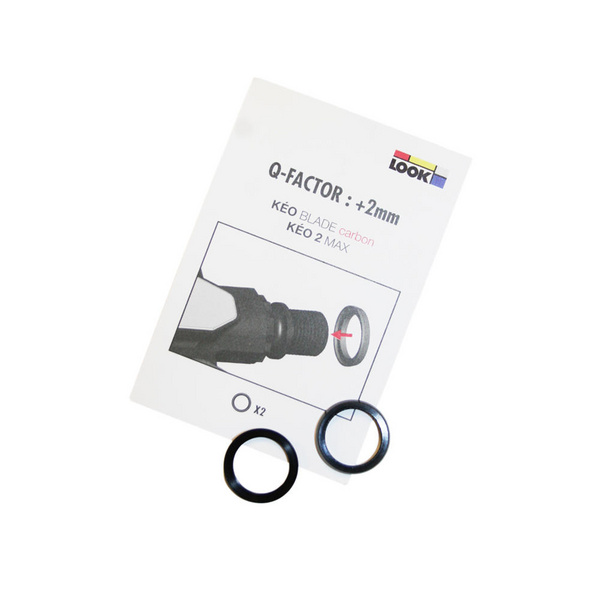 Look Spare - Adjustable Q-Factor Washer Fits Keo 2 Max/Keo Blade (From 53 To 55Mm Q-Factor)