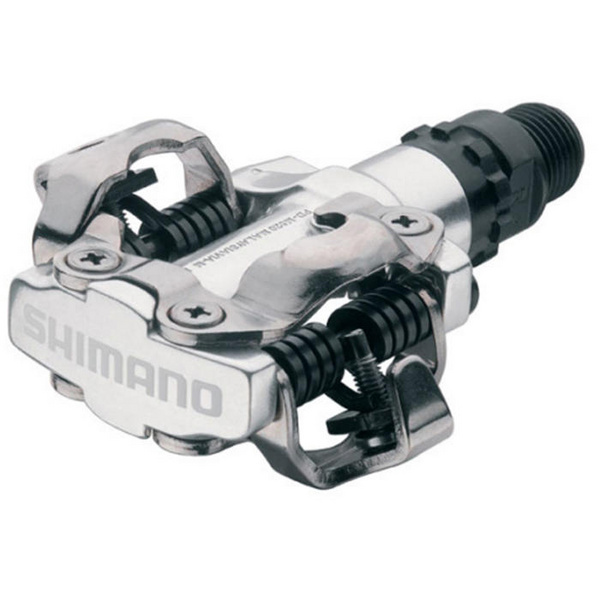 PD-M520 MTB SPD pedals - two sided mechanism, silver