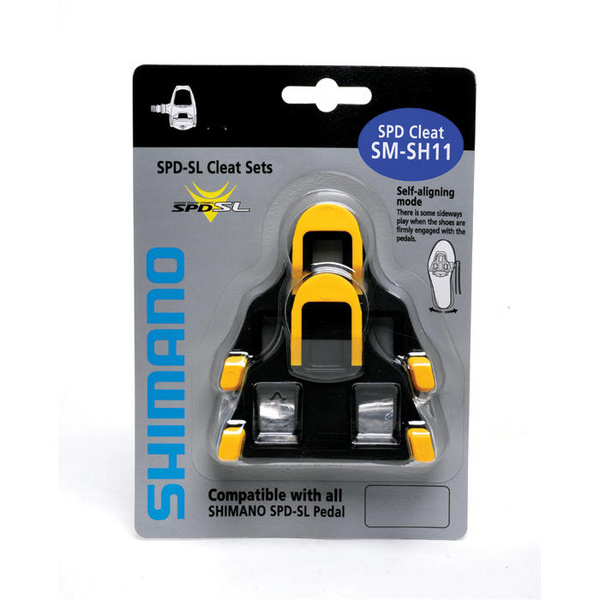 SM-SH11 SPD SL-Cleats , Centre Pivot Floating, Yellow