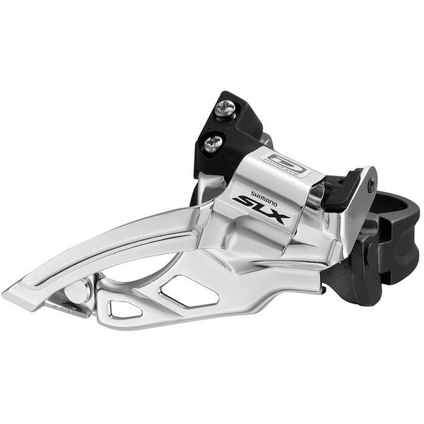 FD-M675 SLX 10-speed double front derailleur, top swing, dual-pull
