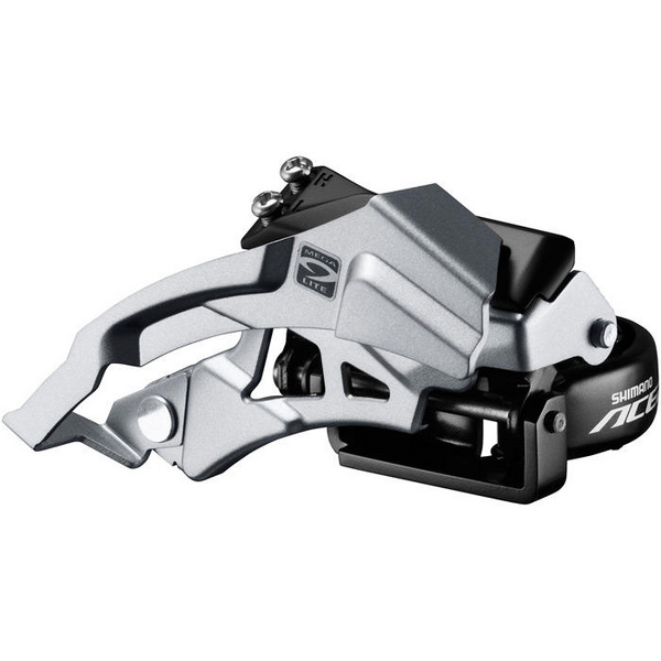 Acera M3000 triple front derailleur top swing, dual-pull, 9-speed 66-69