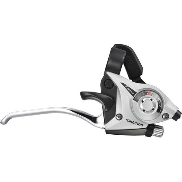 ST-EF51 Altus EZ fire plus STI 8-speed set, 2-finger lever, silver