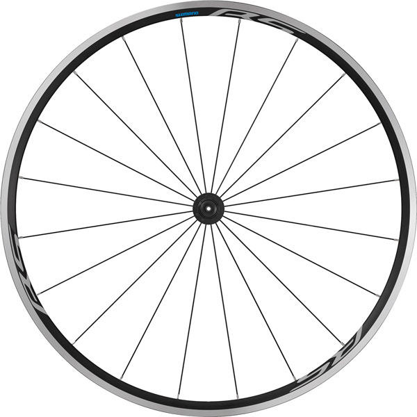 WH-RS100 clincher wheel, 100 mm Q/R axle, front, black