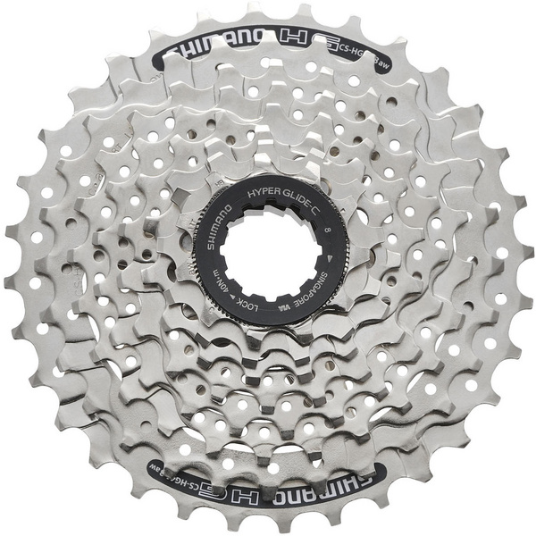 CS-HG41 8-speed cassette - Silver