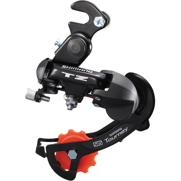 RD-TZ500 6-Speed Rear Derailleur With Mounting Bracket