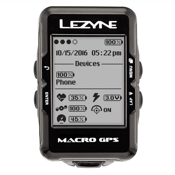Lezyne - Macro GPS - Black