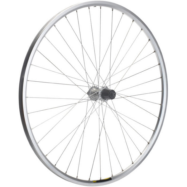 Shimano Deore / Mavic A319 silver / DT Swiss P/G 36 hole rear wheel