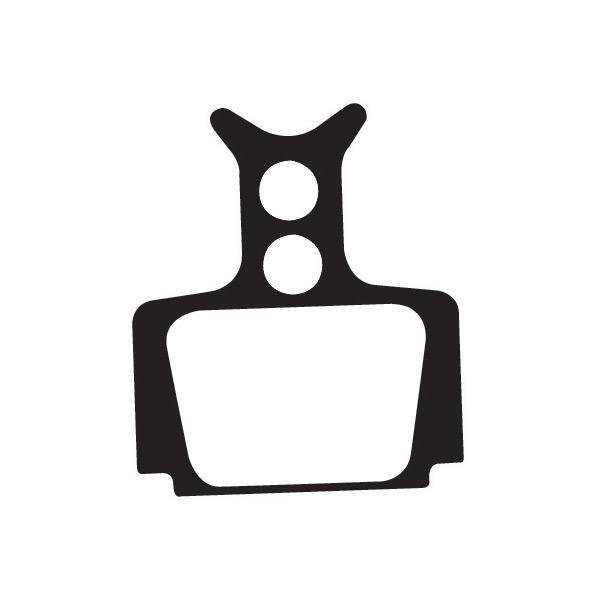 Organic disc brake pads for Formula Oro Mega