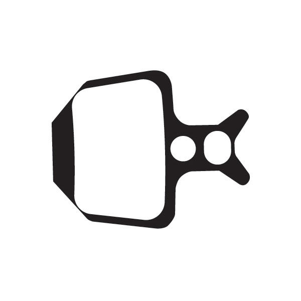 Sintered disc brake pads for Formula Oro callipers