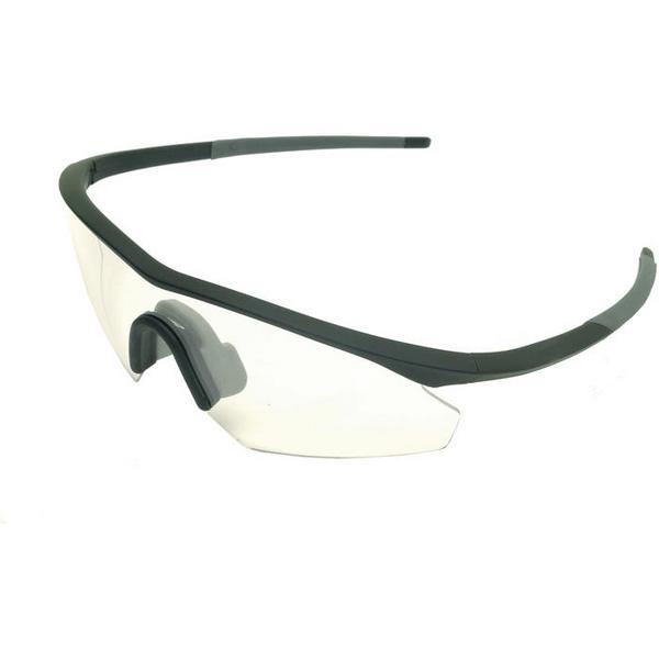 Shields glasses - single clear lens