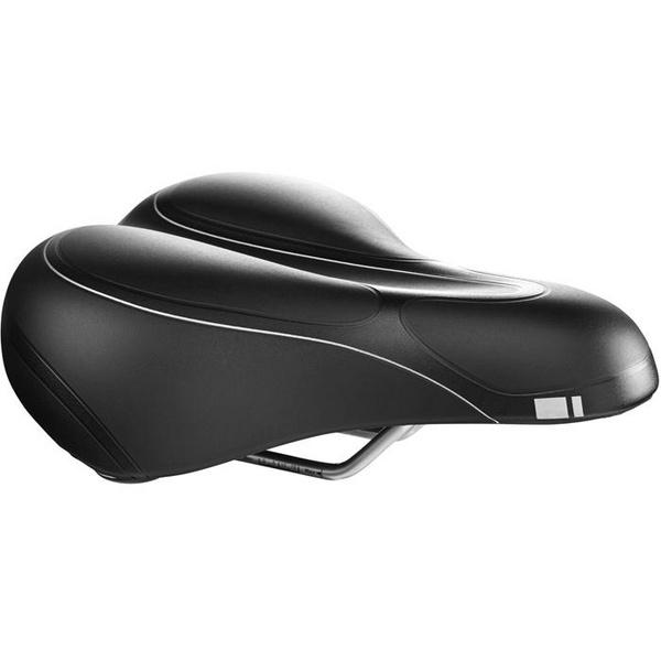 G300 Men's saddle, suspension gel, black