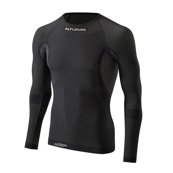 ALTURA THERMOCOOL LONG SLEEVE BASELAYER 2016: BLACK S/M