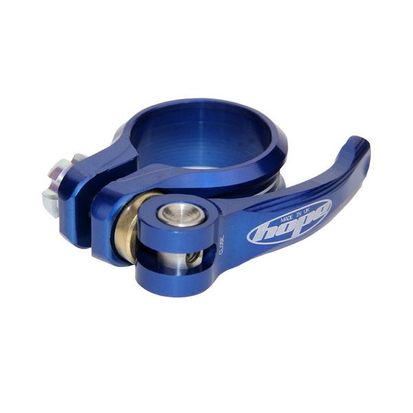 Seat Clamp - Q/R - Blue