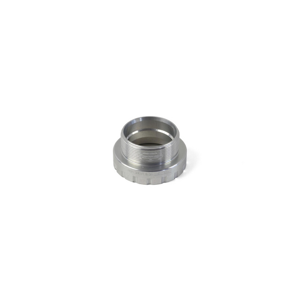 24mm Bottom Bracket Non-Drive Side Cups - Silver