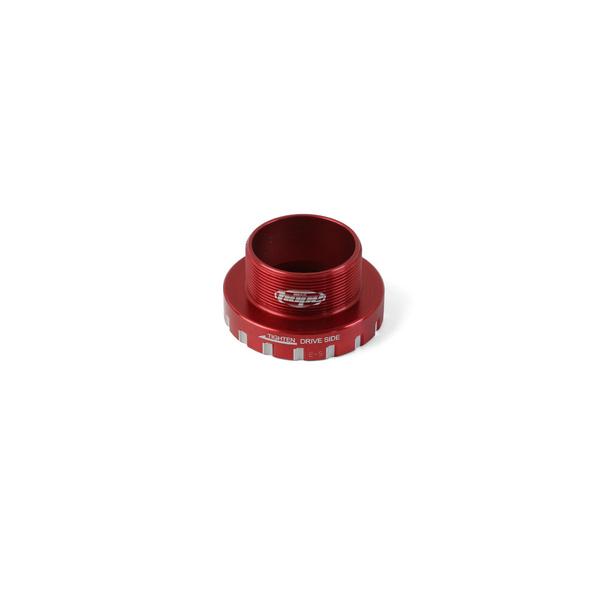 30mm Bottom Bracket Drive Side Cups - Red