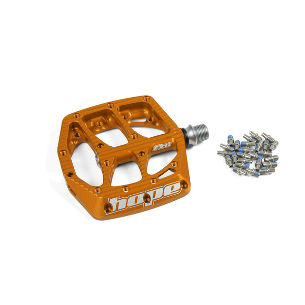 F20 Pedal Complete - Orange - Single