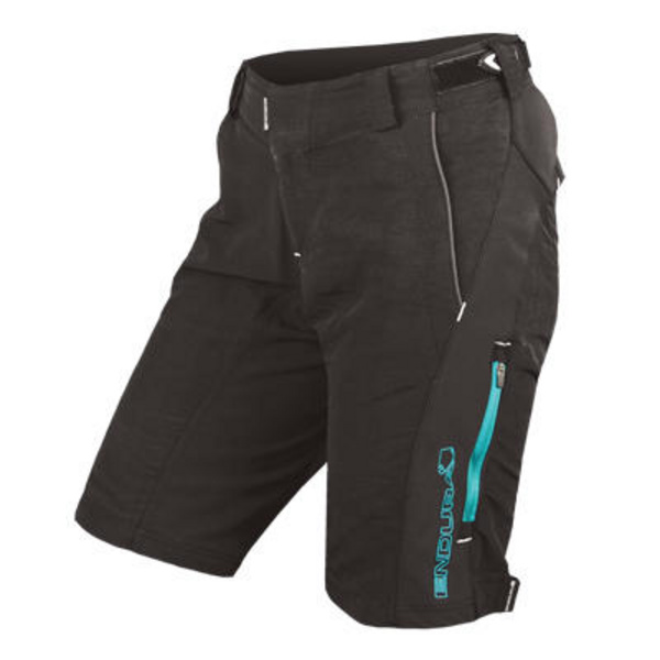 Endura Endura Wms SingleTrack II Short: Black - S