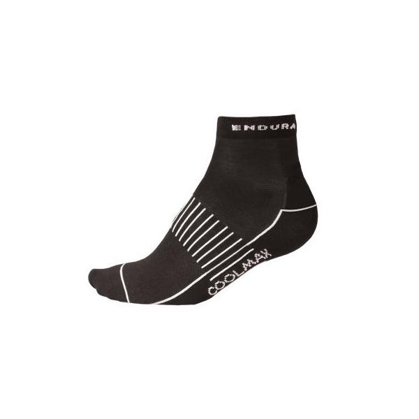 Endura Wms COOLMAX® Race Sock (Triple Pack) - Black