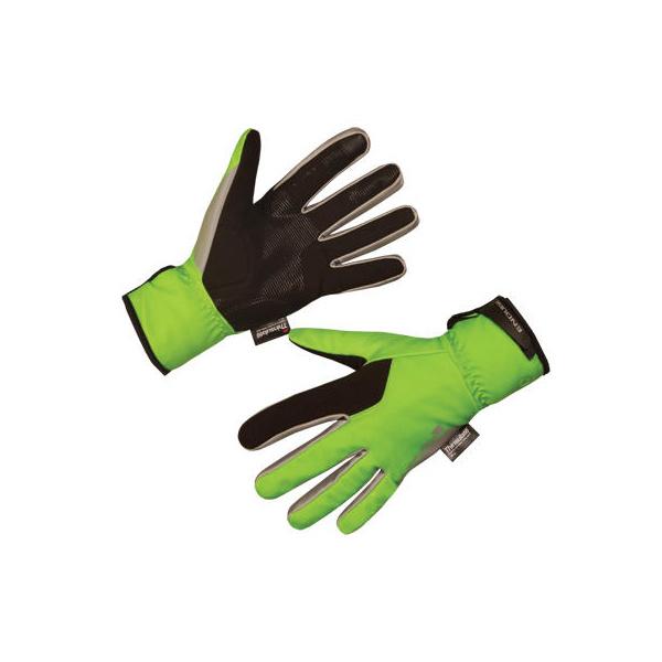 Endura Endura Deluge II Glove      : HiVizGreen - XS