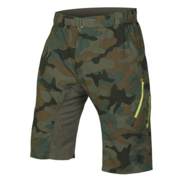 Endura Endura Hummvee Lite Short II with liner: Camouflage - XL