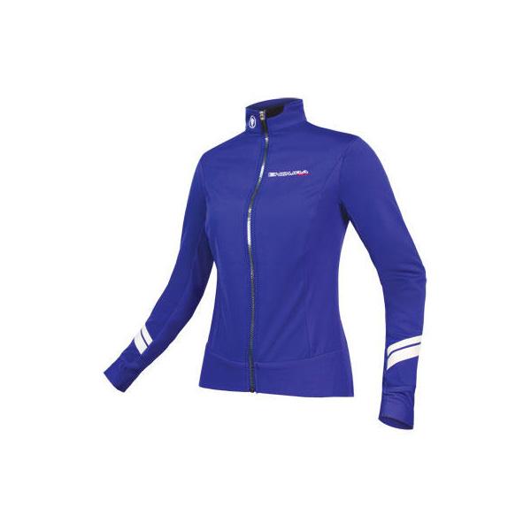Endura Endura Wms Pro SL Thermal Windproof Jacket: CobaltBlue - M