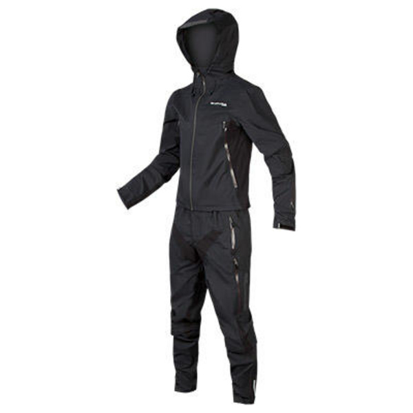 Endura Endura MT500 Waterproof Suit: Black - XXL