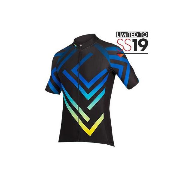 Endura Endura PT Maze S/S Jersey LTD: Black - XXL