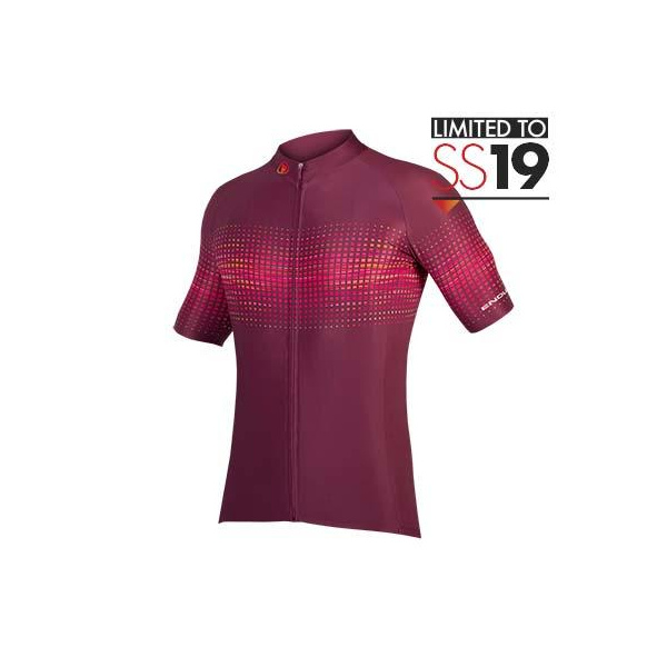 Endura Endura PT Wave S/S Jersey LTD: Mulberry - XL