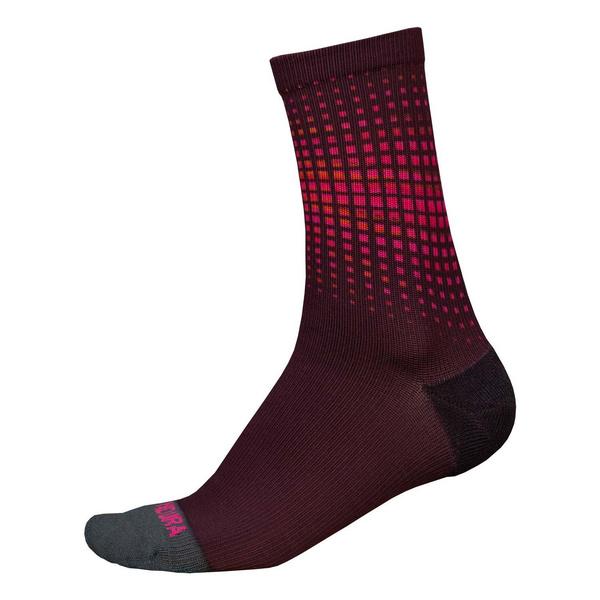 Endura Endura PT Wave Sock LTD: Mulberry - L-XL