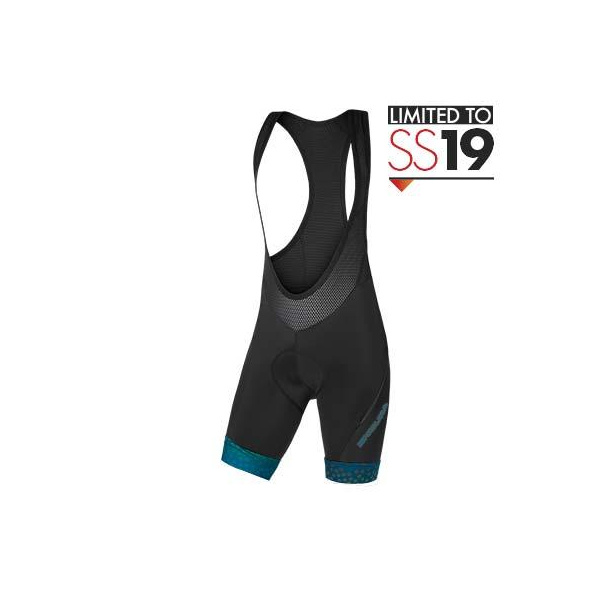 Endura Endura Wms PT Scatter Bibshort LTD: Kingfisher - L