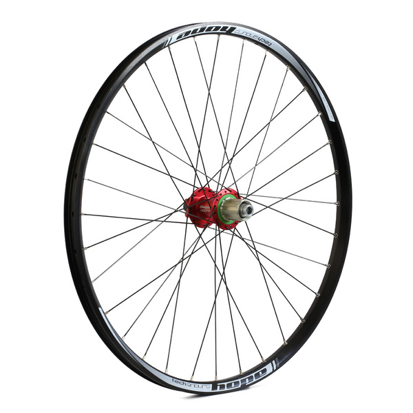 Rear Wheel - 27.5 Enduro - Pro 4 32H - Red 148mm