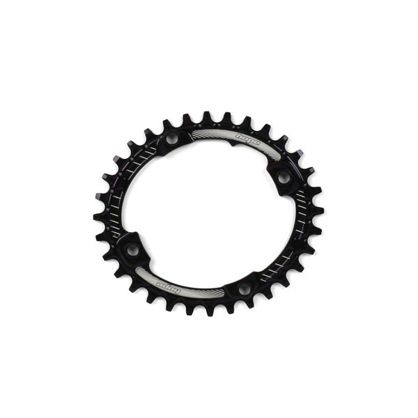 HOPE OVAL RETAINER RING - BLACK