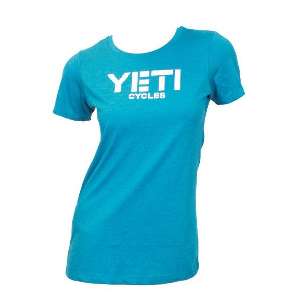 Yeti Women's Classic Yeti Tee Turquoise XL