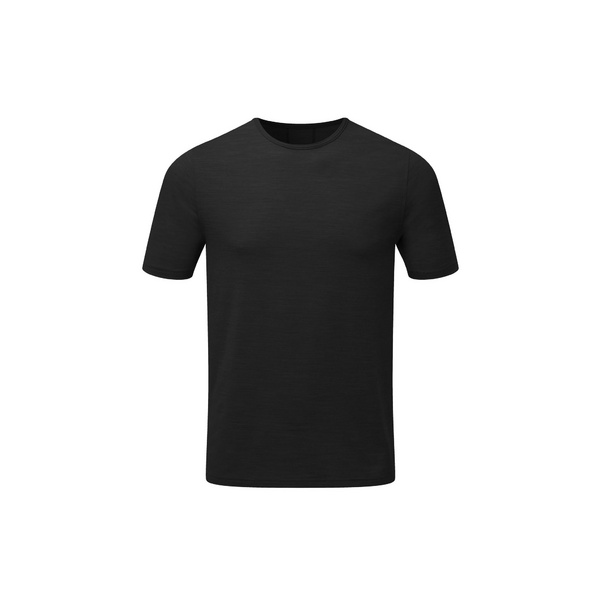 Mens Short Sleeve Baselayer, Black