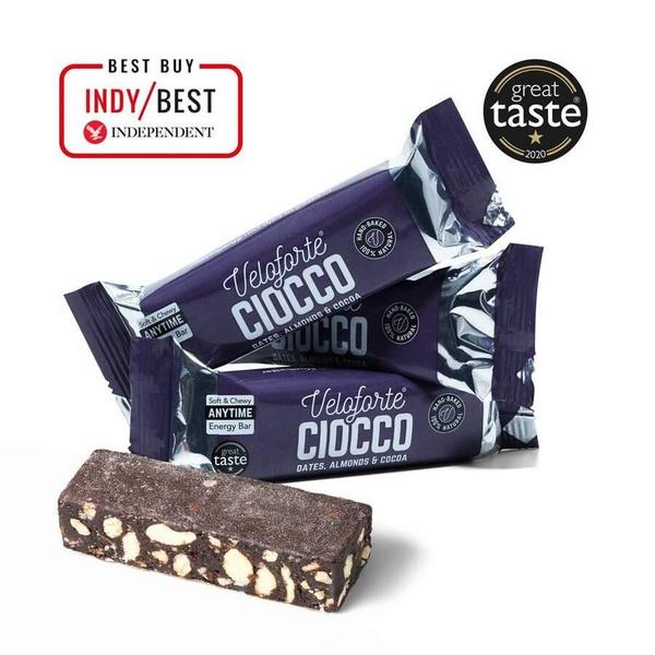 Veloforte Ciocco Bar Dates, Almonds & Cocoa 62g