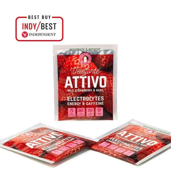 Veloforte Attivo Hydration Wild Strawberry & Basil 25g