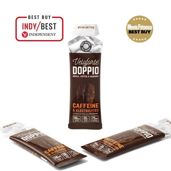 Veloforte Doppio Gel Maple, Coffee & Guarana 33g