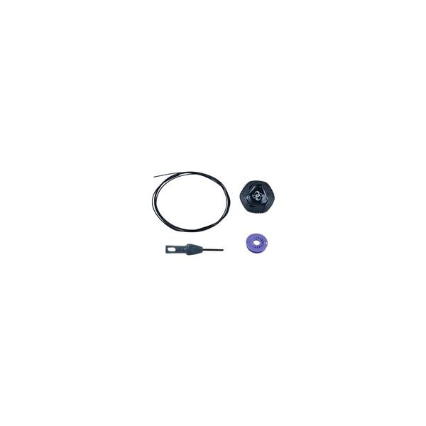 Bontrager Shoe Replacement Boa IP1 Left Dial Kit