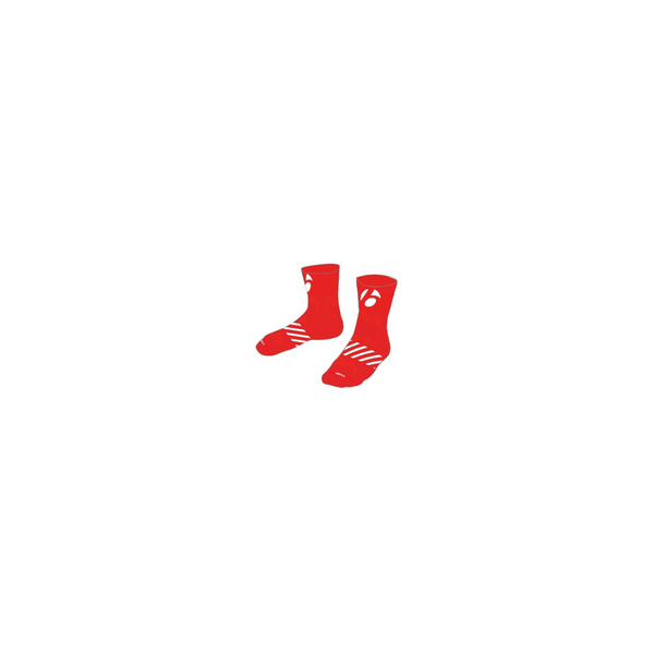 """Bontrager Velocis 2 1/2"""" Cycling Sock - Red"""
