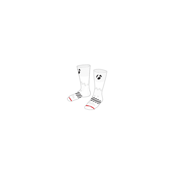 "Bontrager Velocis 5"" Cycling Sock - White"
