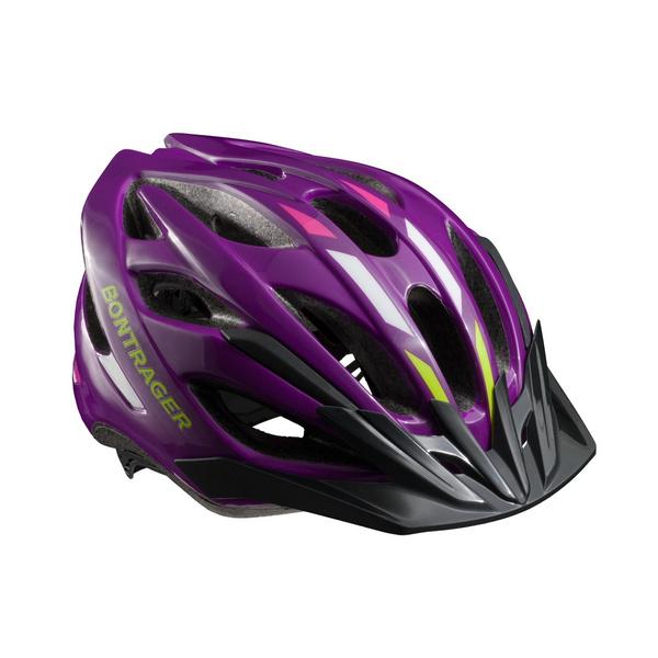 Bontrager Solstice Youth Bike Helmet - Purple