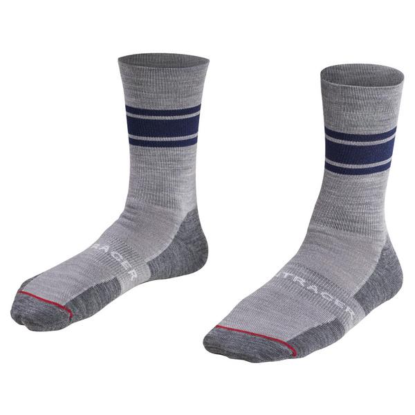 """Bontrager Race 5"""" Wool Cycling Sock - Blue"""