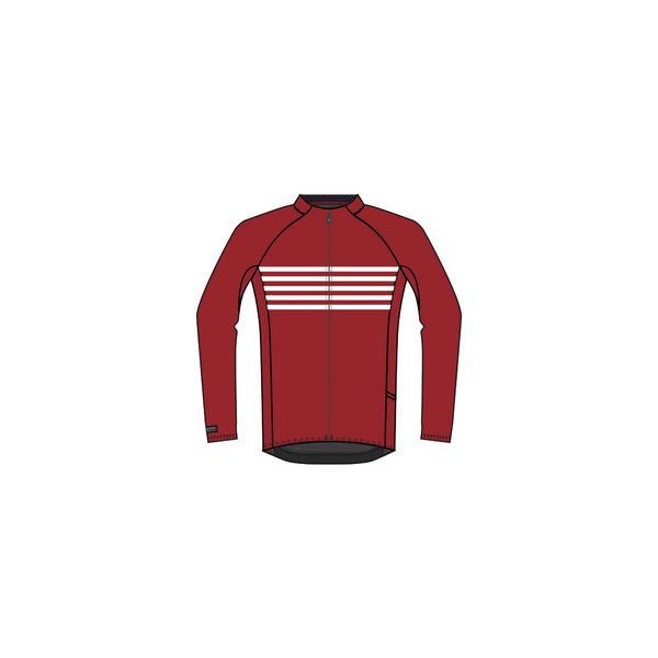 Bontrager Circuit Long Sleeve Cycling Jersey - Red