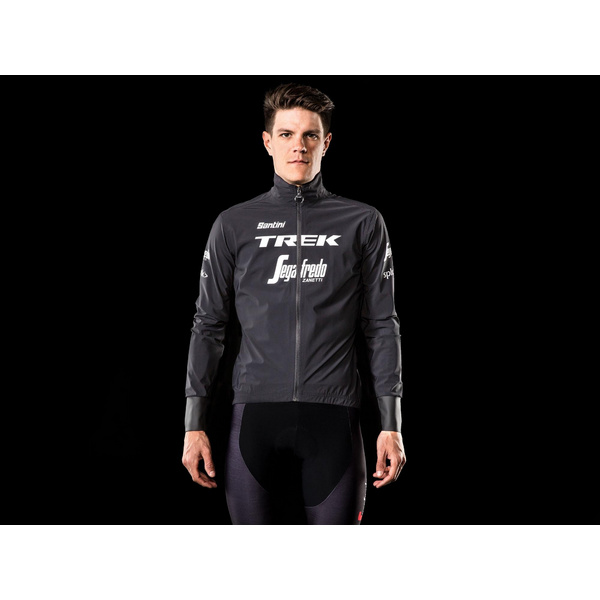 Santini Trek-Segafredo Men's Team Packable Waterproof Jacket