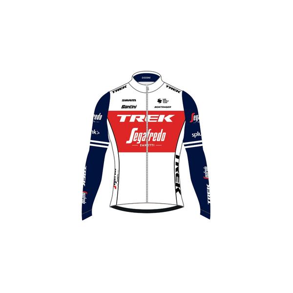 Santini Trek-Segafredo Men's Replica Thermal LS Jersey