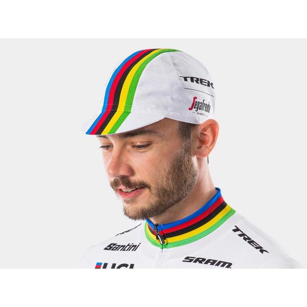 Santini Trek-Segafredo Men's Team World Champion Cycling Cap