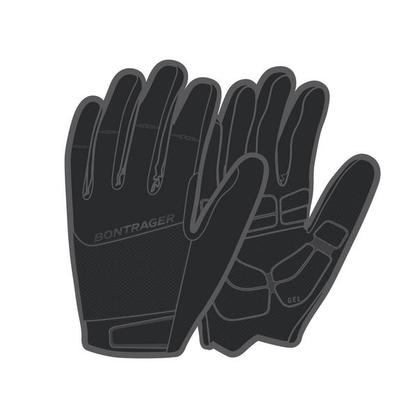 Bontrager Circuit Women's Full Finger Gel Cycling Glove